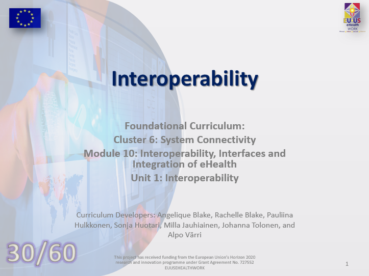 Lesson 30: Interoperability